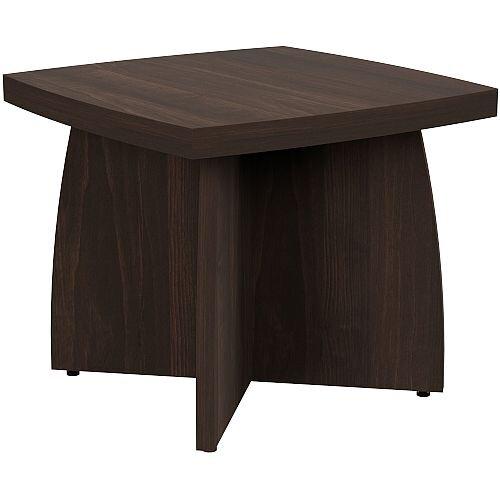 Grand Square Dark Walnut Coffee Table W550xd500xh460