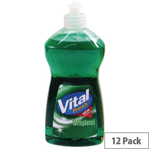 Vital Fresh Washing Up Liquid 500ml Pack of 12 WX00215