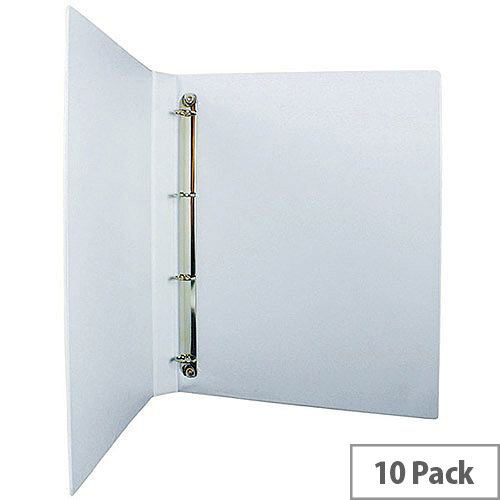 Presentation 4O-Ring Binder White 16mm Pack of 10 WX01324