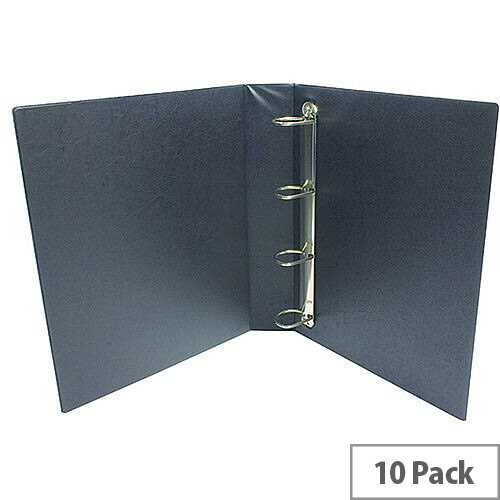 Presentation 4D-Ring Binder 25mm Red Pack of 10 WX01326