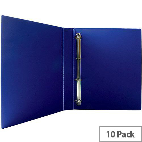 Presentation 4D-Ring Binder 25mm Blue Pack of 10 WX01327
