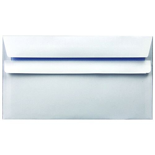 Envelope DL 90gsm Self Seal White (Pack of 1000)