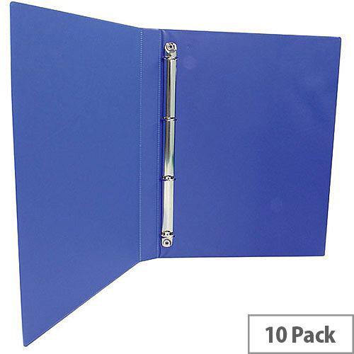 Presentation 4O-Ring Binder Blue 16mm Pack of 10 WX47604