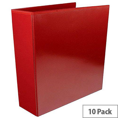 Presentation 4D-Ring Binder 65mm Red WX70296