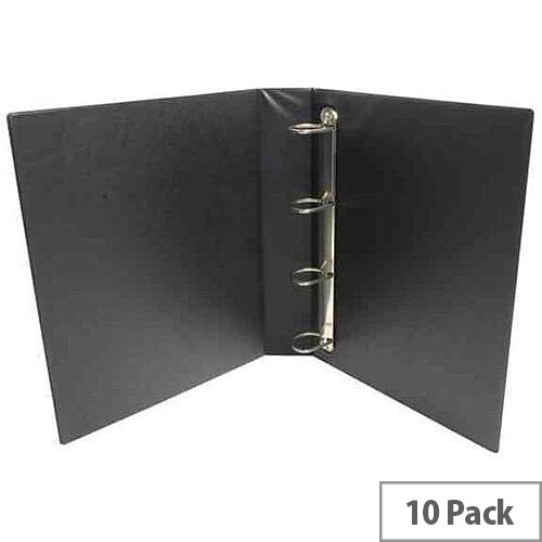 Presentation 4D-Ring Binder 65mm Black WX70297