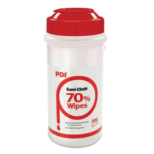 RED Sanicloth 70 Disinfection Wipes 70% Alcohol (200 wipes)