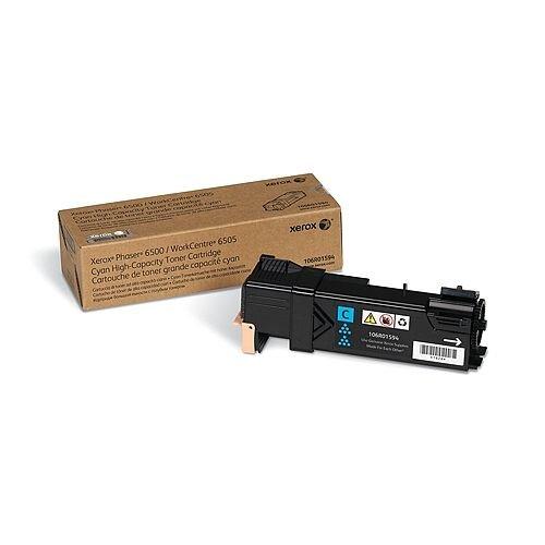 Xerox Toner Cartridge Standard Capacity Cyan 106R01591
