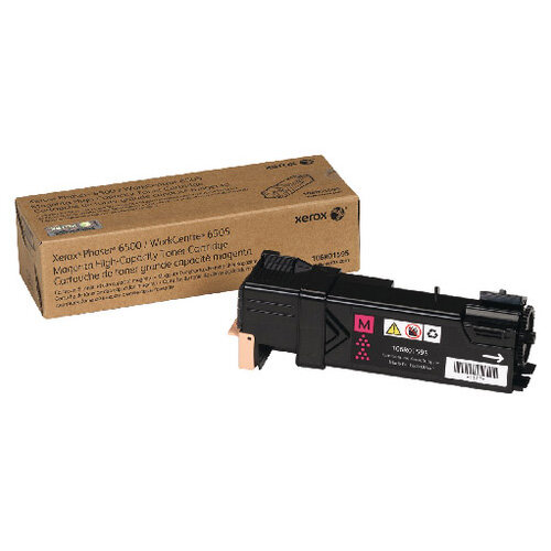 Xerox Toner Cartridge High Capacity Magenta 106R01595