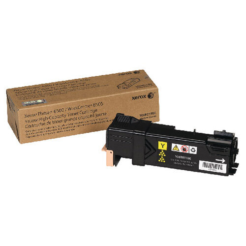 Xerox Toner Cartridge High Capacity Yellow 106R01596