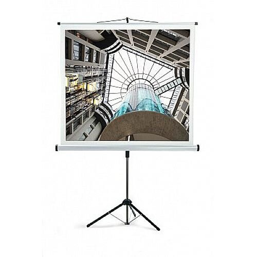 Franken Tripod Projection Screen ECO W:2000xH:2000mm Format 1:1 XSL20