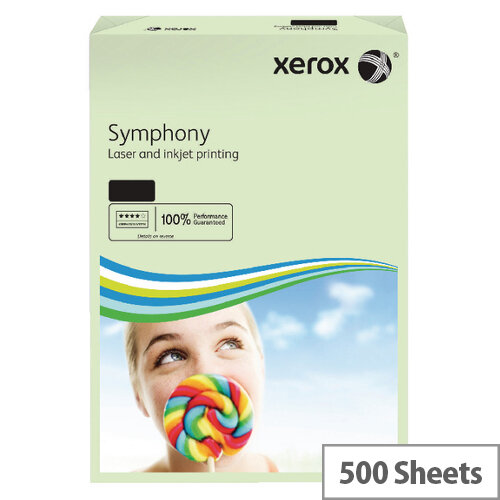 Xerox Symphony Pastel Green A3 Paper 80gsm Pack 500 003R91955