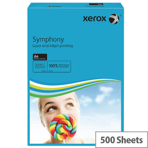 Xerox Symphony Dark Blue A4 Paper 80gsm Pack 500 003R93959