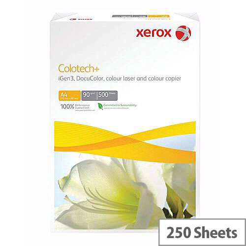 A3 White Xerox Colotech+ Paper Card 160gsm (Pack of 250)