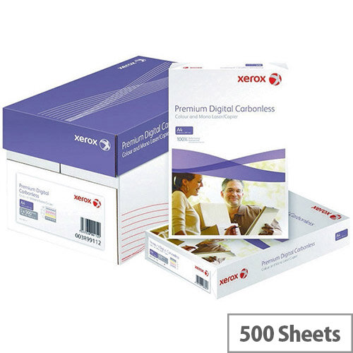 Xerox Premium White/Pink Carbonless Paper Pack of 500