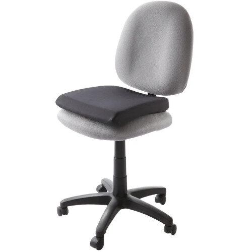 Kensington Memory Foam Seat Rest Black