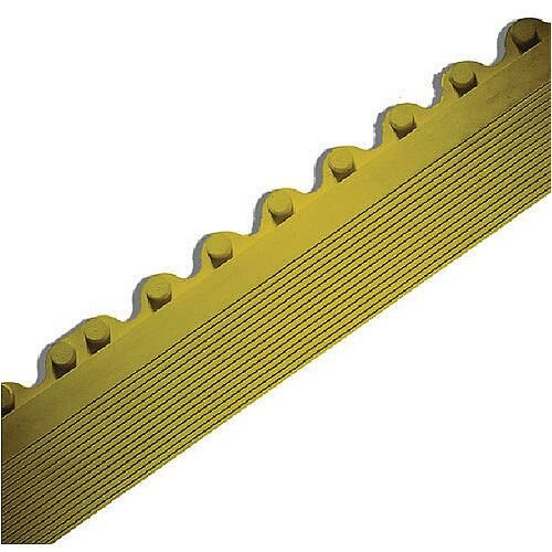 Anti-Fatigue Tile Female Bevel Edge Yellow 383416
