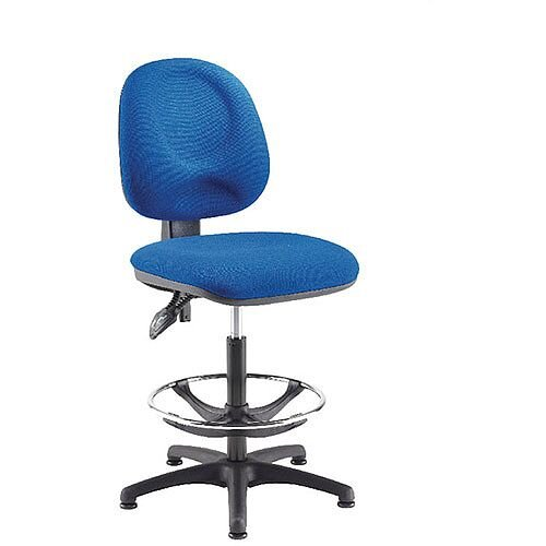 Arista Adjustable Draughtsman Chair Blue KF815147