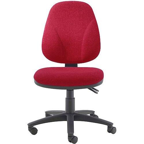 Arista Concept Maxi High Back Asynchro Tilt Task Operator Office Chair Claret KF03466