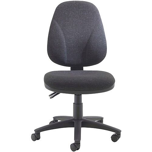 Arista Concept High Back Permanent Contact Task Operator Office Chair Charcoal KF03457