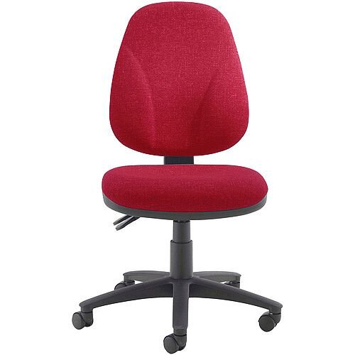 Arista Concept High Back Asynchro Tilt Task Operator Office Chair Claret KF03462
