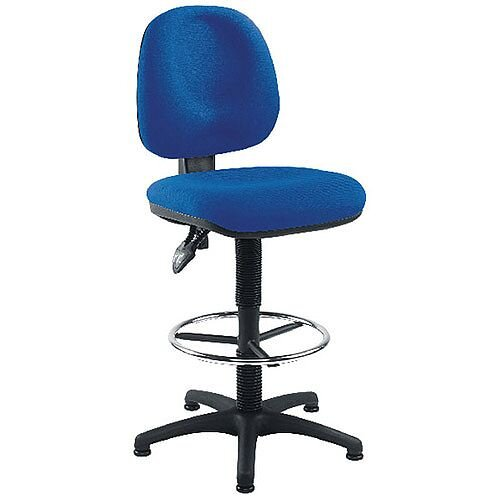 Arista Draughtsmans Chair Blue