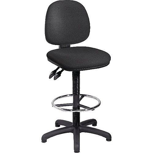 Arista Draughtsmans Chair Charcoal