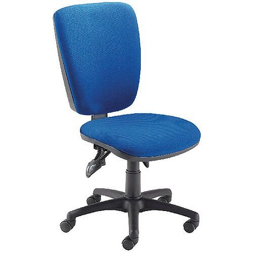 Arista Deluxe High Back Task Operator Office Chair Blue 09OP07
