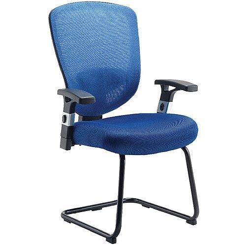 Arista Mesh Visitors Chair Blue KF72244