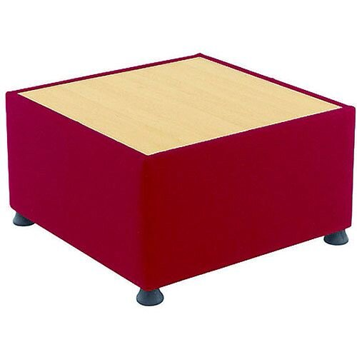 Claret &Beech Coffee Table For Arista Modular Reception Unit KF14457