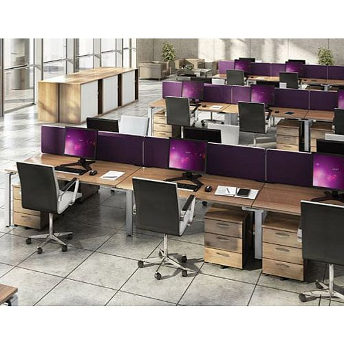 Aura Bench Desking System