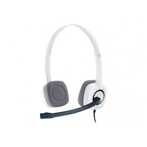 Logitech Stereo Headset H150 - Headset - on-ear - wired - coconut
