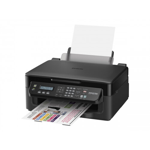 Epson WorkForce WF-2510WF - Multifunction printer - colour - ink-jet - Legal (media) - up to 34 ppm (printing) - 100 sheets - USB 2.0, Wi-Fi(n)