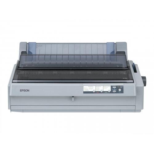 Epson LQ 2190 - Printer - monochrome - dot-matrix - A3 - 10 cpi - 24 pin - up to 576 char/sec - parallel, USB