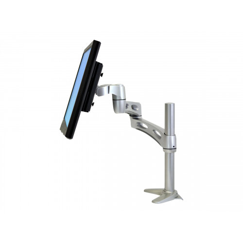 """Ergotron Neo-Flex Extend LCD Arm - Mounting kit (mounting base, pivot, clamp base) for LCD display - plastic, aluminium - silver - screen size: up to 22"""""""