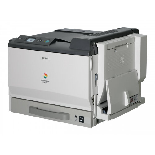 Epson AcuLaser C9200DN - Printer - colour - Duplex - laser - A3/Ledger - up to 26 ppm (mono) / up to 26 ppm (colour) - capacity: 350 sheets - parallel, USB, LAN
