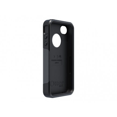 OtterBox Commuter Apple iPhone 5 - Protective cover for mobile phone - silicone, polycarbonate - black - for Apple iPhone 5