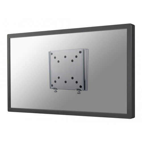 "NewStar TV/Monitor Ultrathin Wall Mount (fixed) for 10""-30"" Screen - Silver - Wall mount for LCD display - lockable - silver - screen size: 10""-30"""
