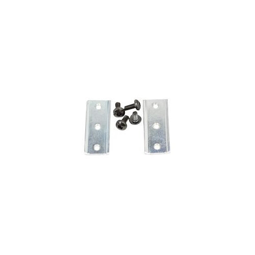 Ergotron StyleView T-Nut Kit - Mounting component (2 brackets, 8 screws) - aluminium - for Ergotron SV32 PHD Single Drawer