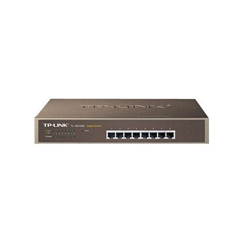 TP-Link TL-SG1008 - Switch - 8 x 10/100/1000 - desktop