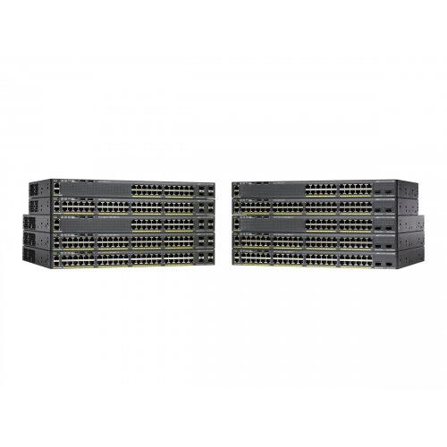 Cisco Catalyst 2960X-24TS-L - Switch - Managed - 24 x 10/100/1000 + 4 x Gigabit SFP - desktop, rack-mountable