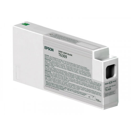 Epson UltraChrome HDR - 700 ml - light light black - original - ink cartridge - for Stylus Pro 7890, Pro 7900, Pro 9890, Pro 9900, Pro WT7900