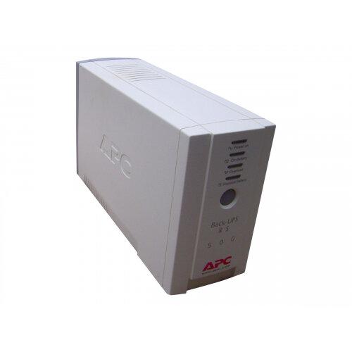APC Back-UPS CS 500 - UPS - AC 230 V - 300 Watt - 500 VA - RS-232, USB - output connectors: 4 - beige
