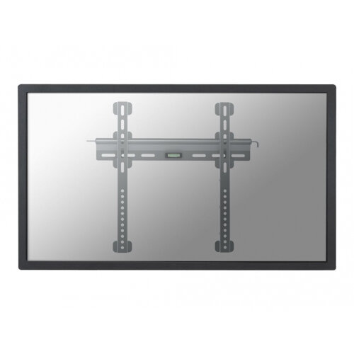 "NewStar TV/Monitor Ultrathin Wall Mount (fixed) for 23""-52"" Screen - Silver - Wall mount for LCD / plasma panel - silver - screen size: 23""-52"""