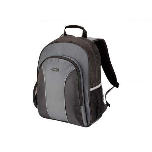 "Targus Essential 15.4 - 16 inch / 39.1 - 40.6cm Laptop Backpack - Notebook carrying backpack - 16"" - grey, black"