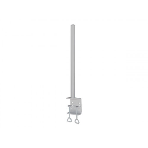 NewStar 70cm extension pole for Monitor Mounts: FPMA-D935/935D - Silver - Mounting component (extension pole) for Monitor - silver - desk-mountable - for NewStar Full Motion Desk Mount, Full Motion Dual Desk Mount