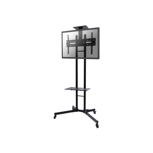 "NewStar Mobile Monitor/TV Floor Stand for 32-55"" screen, Height Adjustable - Black - Cart for TV / AV System - black - screen size: 32""-55"""