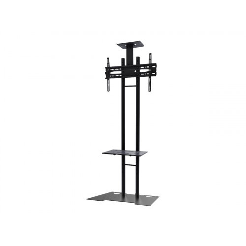 """NewStar Monitor/TV Floor Stand for 32-55"""" screen, Height Adjustable - Black - Stand for LCD / plasma panel - black - screen size: 32""""-55"""" - floor-standing"""