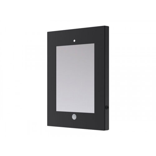 NewStar Lockable iPad Tablet Mount (VESA 75x75mm) - Black - Enclosure for tablet - steel - black - mounting interface: 100 x 100 mm - ceiling mountable, wall-mountable, desk-mountable - for Apple iPad (3rd generation); iPad 2