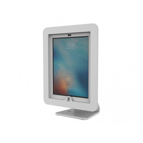 "Compulocks Executive 360 - iPad 9.7"" Counter Top Kiosk - White - Stand for tablet - aluminium - white - for Apple 9.7-inch iPad Pro; iPad; iPad 2; iPad Air; iPad Air 2; iPad with Retina display"