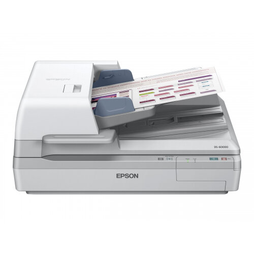 Epson WorkForce DS-60000 - Document scanner - Duplex - A3 - 600 dpi x 600 dpi - up to 40 ppm (mono) / up to 40 ppm (colour) - ADF (200 sheets) - up to 5000 scans per day - USB 2.0